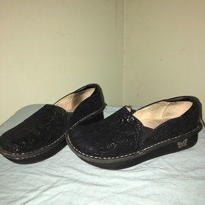 Alegria Shoes - Alegria Debra nursing shoes black sprigs size 37
